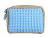 Kosmetyczka Pixelbags beżowo-błękitna WY-B001-TO