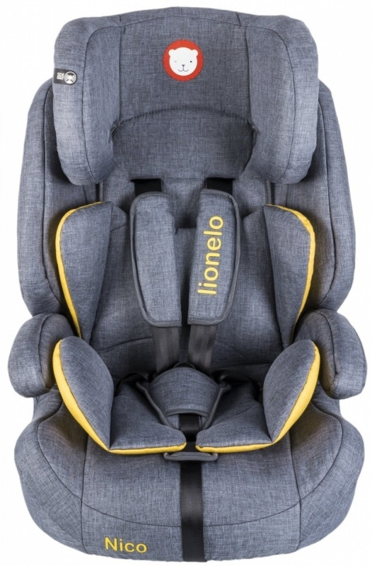 Fotelik 9-36 kg Nico yellow (52508)