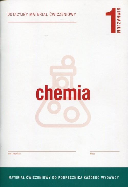 Chemia 1 Dotacyjny materiał ćwiczeniowy Szczepaniak Maria Barbara, Waszczuk Janina