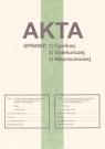 Zeszyt A4 Akta sprawy cywilnej