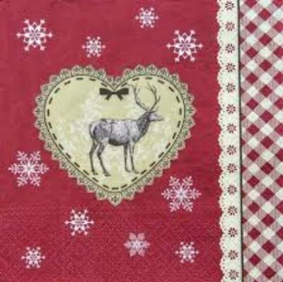 Serwetki Loving Christmas SDL930005