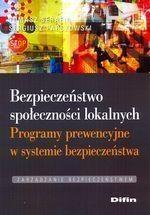 Bezpieczeństwo społeczności lokalnych Serafin Tomasz, Parszowski Sergiusz