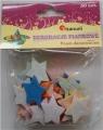 Kryształki piankowe gwiazdki 30 sztuk