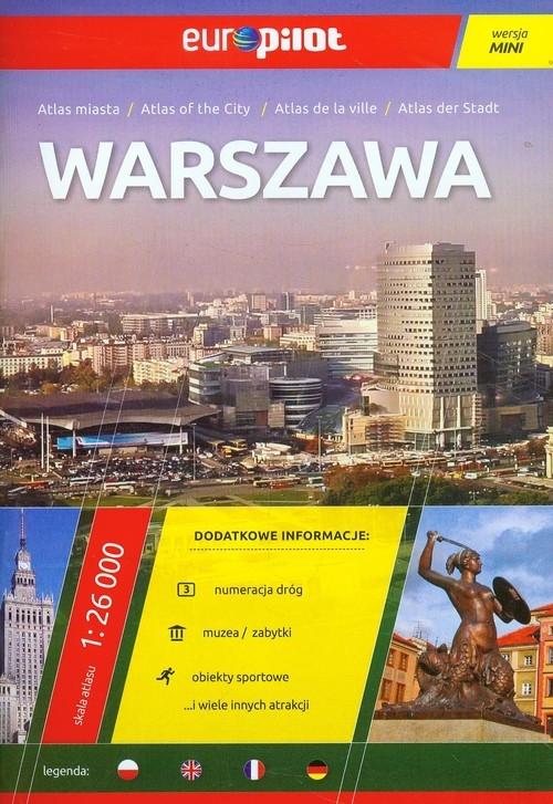 Warszawa atlas miasta