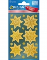 Naklejki - Złote gwiazdy (52808)