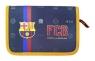 Piórnik jednokomorowy z wyposażeniem FC Barcelona