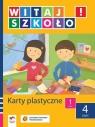 Witaj szkoło 1 Karty plastyczne część 4 szkoła podstawowa Korcz Anna