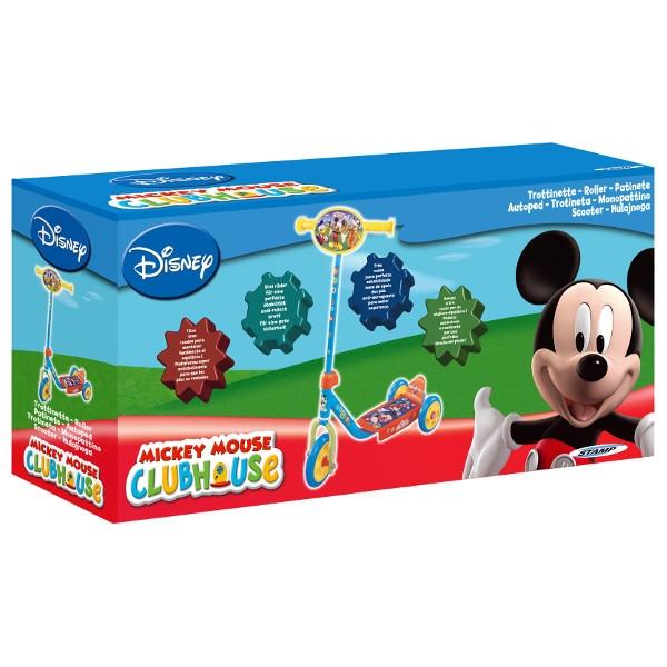 STAMP Hulajnoga 3 kołowa Mickey (100046)
