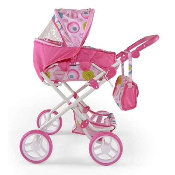 MILLY MALLY Wózek dla lalek Paulina biał (0462)