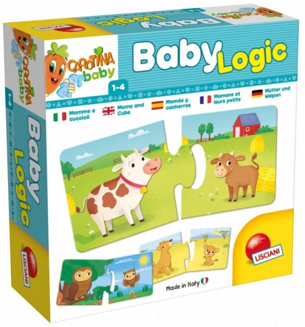 Gra Carotina Baby Logic Mamy i ich dzieci (304-58495)