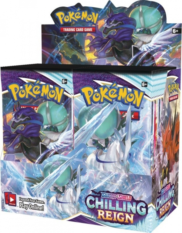 Karty Chilling Reign Booster Box (18462 Display)