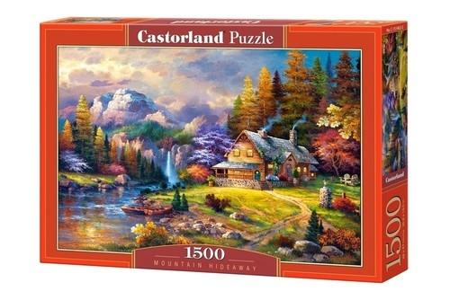 Puzzle Mountain Hideway 1500 (C-151462-2)