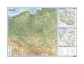 Polska mapa ścienna podręczna