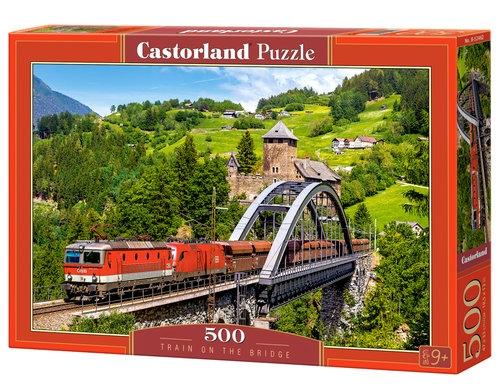 Puzzle 500: Train on the Bridge