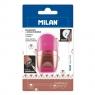 Temperówka + gumka Milan Capsule Copper różowa (BYM10378)