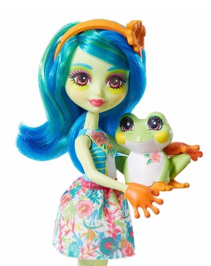 Lalka Enchantimals + zwierzątko: Tamika Tree Frog i Burst (FNH22/GFN43)