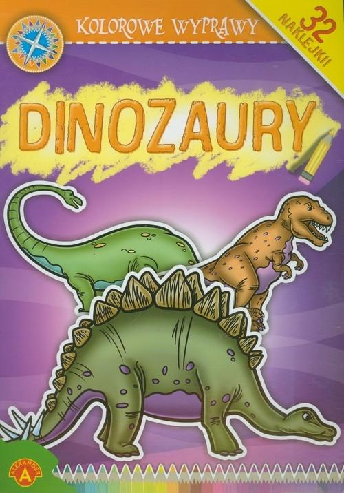 Kolorowe Wyprawy Dinozaury (5946) Praca zbiorowa