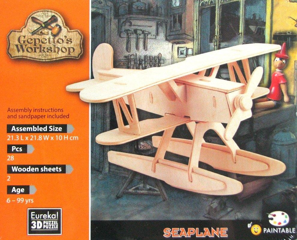 Łamigłówka drewniana Gepetto - Hydroplan (105672)