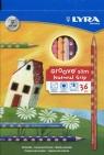 Lyra Kredki Groove slim 36 sztuk + temperówka (L2821360 FIL)