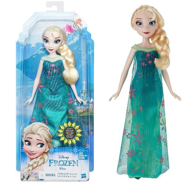 HASBRO Frozen Gorączka Lodu lalka, Elsa (B5164EU40/B5165)