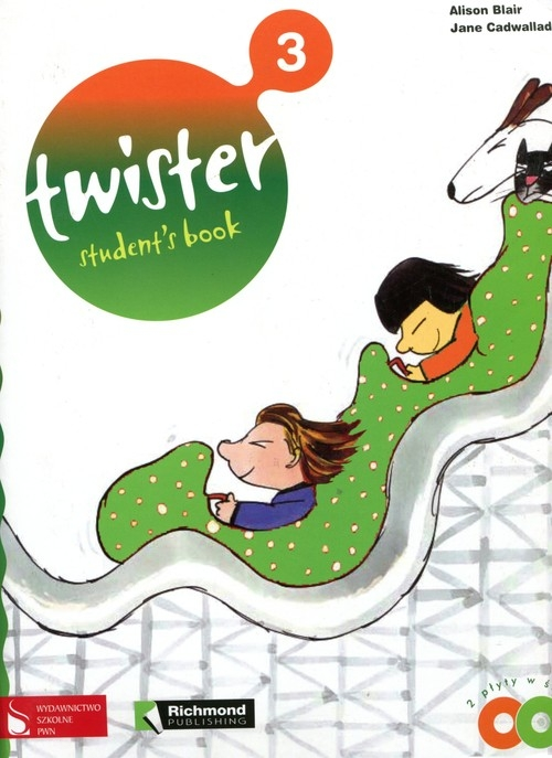 Twister 3 students book 2 cd Blair Alison, Cadwallader Jane