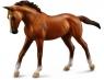 Klacz rasy arabskiej Chestnut Koń figurka