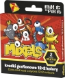 Kredki grafionowe 12 kolorów + 2  Mixels