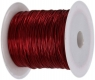 Drut dekoracyjny - czerwony 0,45mm/30m (339373)
