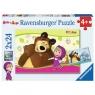 Puzzle Masza i niedźwiedź 2x24 (090464)