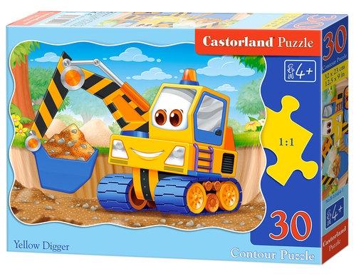 Puzzle konturowe 30: Yellow Digger (03464)