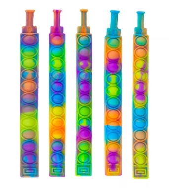 Pop it, bransoletka sensoryczna, antystresowa, gniotek Push Pop Bubble (NO-1005405)