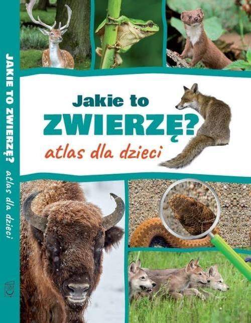 Jakie to zwierzę? Atlas dla dzieci (Uszkodzona okładka) Twardowska Kamila, Twardowski Jacek