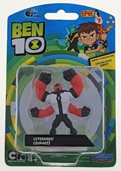 Ben 10: Minifigurka na blistrze - Czteroręki (PBT76760D)