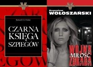 Czarna księga szpiegów/Wojna,miłość,zdrada. Pakiet 2 książek Bogusław Wołoszański, Richard C.S. Trahair