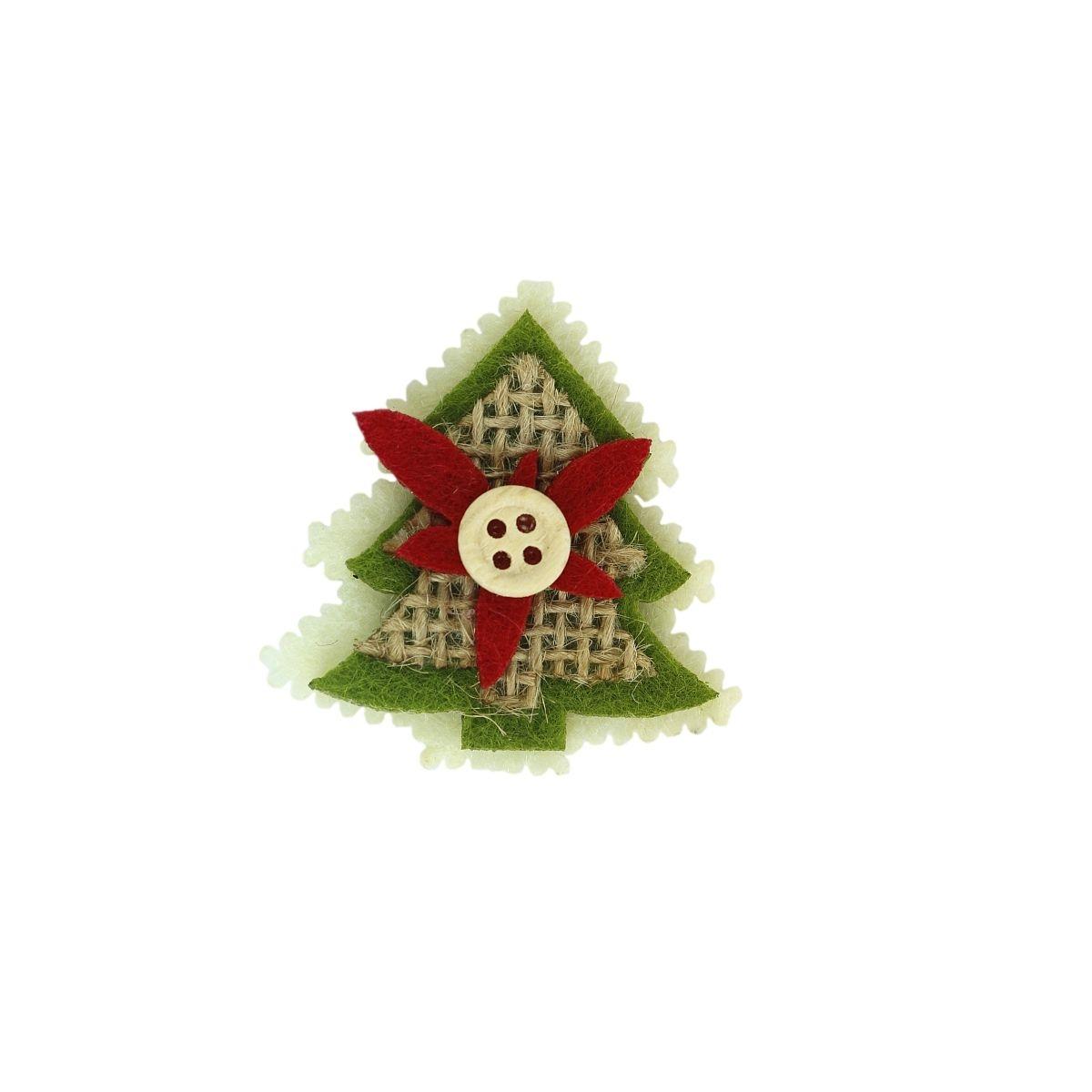 Dekoracje filcowe choinki (362018)