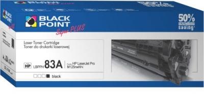 Toner alternatywny Black Point HP CF283A - czarny (LBPPH83A)