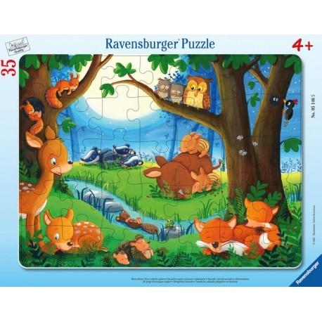 Puzzle ramkowe 35: Dobranoc (5146)
