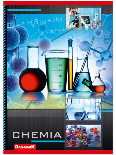 Zeszyt tematyczny Dan-Mark A5/60 chemia laminowany DANMARK