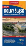 Mapa samochodowo-administracyjna Dolny Śląsk 1:250 000