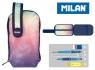 Multipiórnik MILAN owalny mini z 1 piórnikiem Sunset (08871SU)