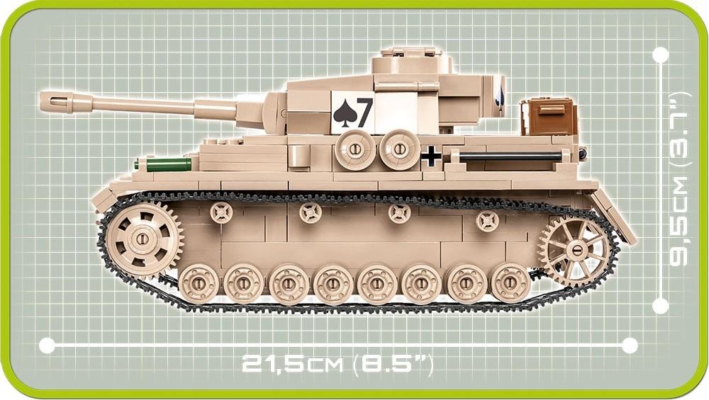 Cobi: Historical Collection. World War II - Panzer IV Ausf.G (2546)