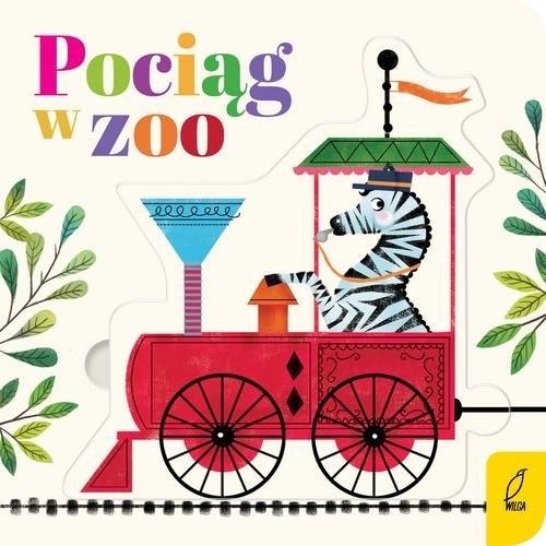 Czytanki - układanki Pociąg w zoo praca zbiorowa