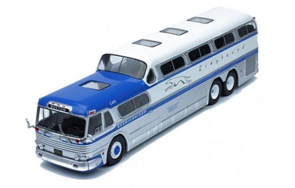 Greyhound Scenicruiser 1956 (blue/silver/white) (BUS001)
