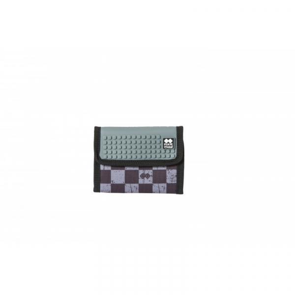 PIXIECREW Portfel szara kratka/szary (PXA-10-15)