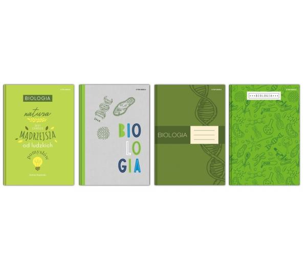 Brulion Top 2000 A5/80k, kratka z marginesem - Biologia (400152064)