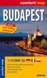 Budapest pocket map 1:15 000