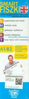 Smart Fiszki 1000 angielskich ćwiczeń gramatycznych