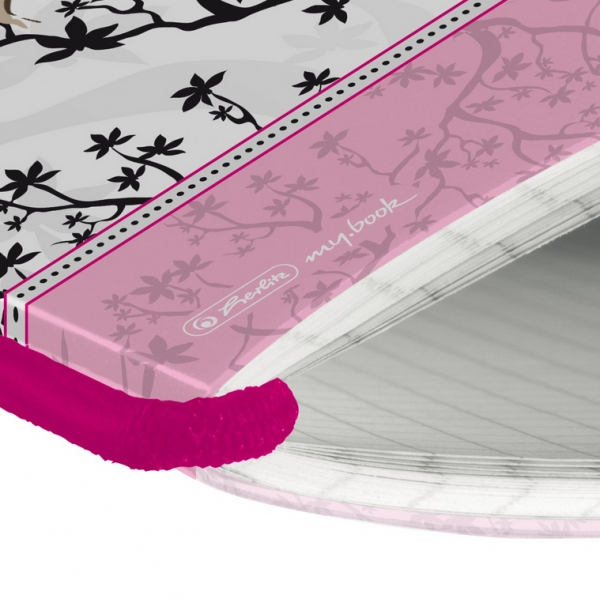 Notatnik PP my.book Flex A6/40 kartek w kratkę Ladylike (11361706)
