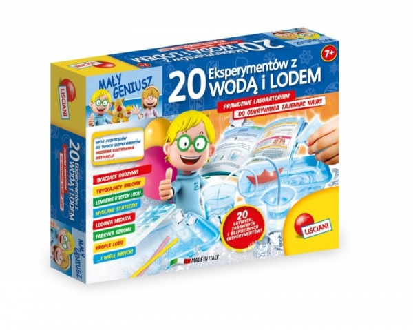 20 Eksperymentów z wodą i lodem (304-P54466)