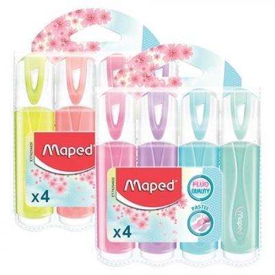 Zakreślacz Fluo Peps pastel 4 kolory MAPED